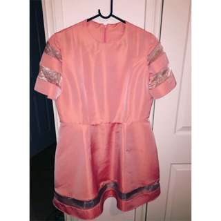 ASOS Pink Handmade Babydoll Dress