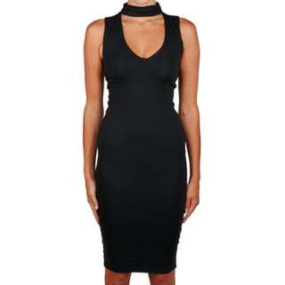Kookai Black Malibu Dress