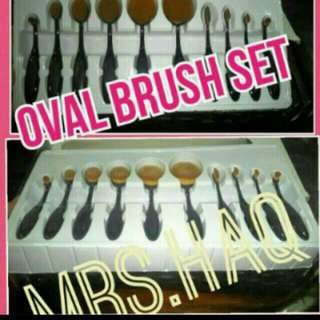 INSTOCK! 2 SETS AVAILABLE. POSTING ON MONDAY 16/5. $35.00 FREE NM(OWN RISK) OVAL BRUSH SET.  SERIOUS BUYER. KINDLY PM. NO NEGO. ADD $4.00 For REG.MAIL