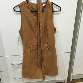 Brown Play suit
