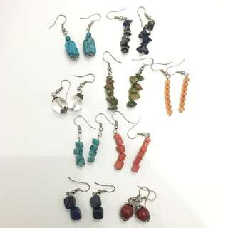 Anting Batu Handmade