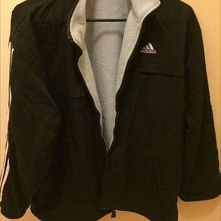 REVERSIBLE Vintage Adidas Jacket ~ Clothinf