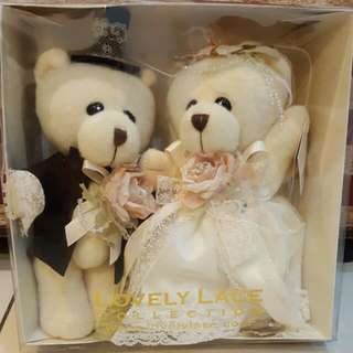 BNWT Lovely Lace Wedding Bear