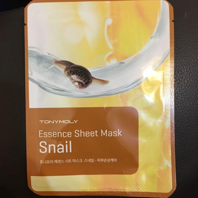 現貨tonymoly 蝸牛精華面膜 Essence Sheet Mask