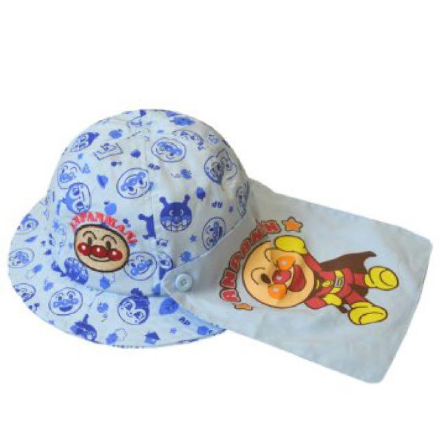 麵包超人兒童防曬遮陽帽(日本直送,正版商品)