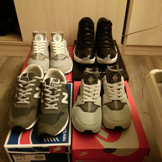 搬家,割捨賣鞋有緣人來認養