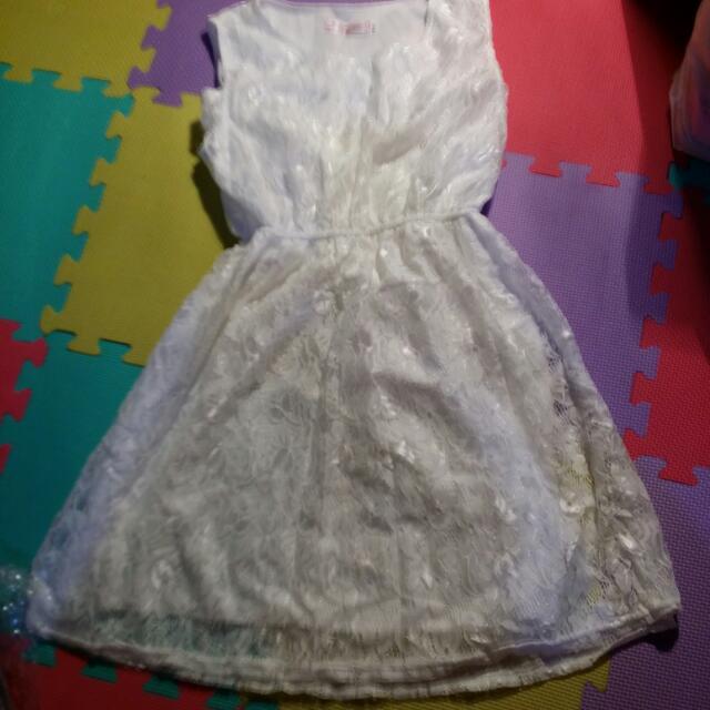 蕾絲可愛洋裝
