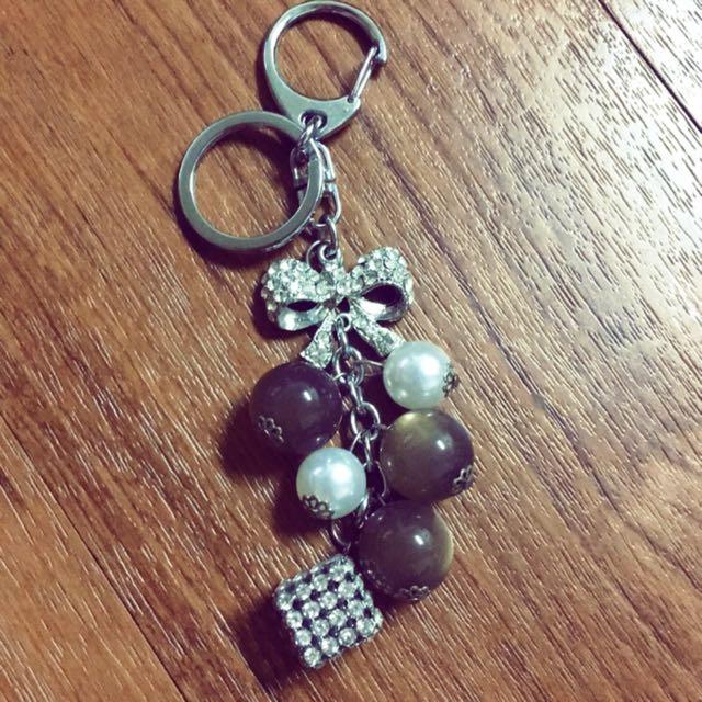 珍珠水晶🎀吊飾