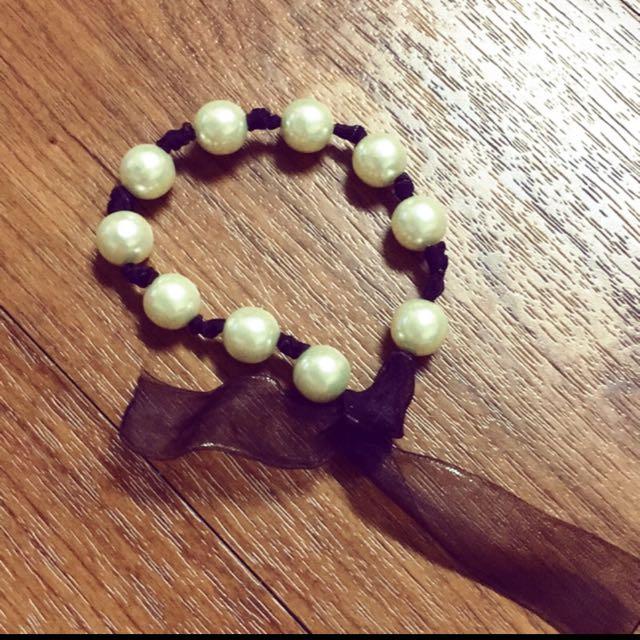 手工珍珠手鏈