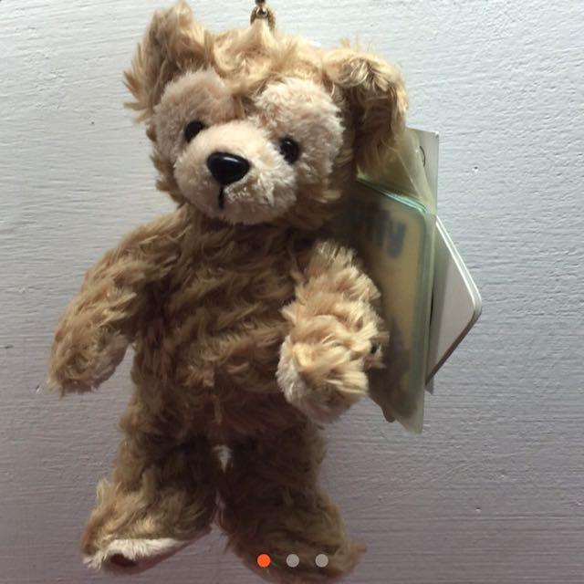 香港迪士尼 達菲 站姿 吊飾 Duffy