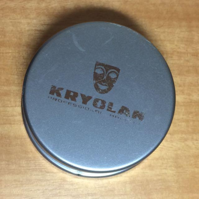 保留中 含郵 面具Kryolan 蜜粉