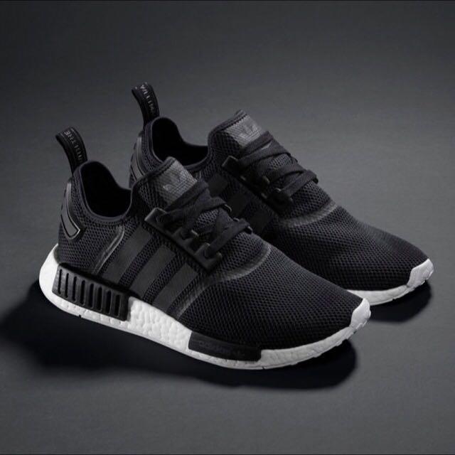 c252d808c75a Adidas NMD Runner M Black White
