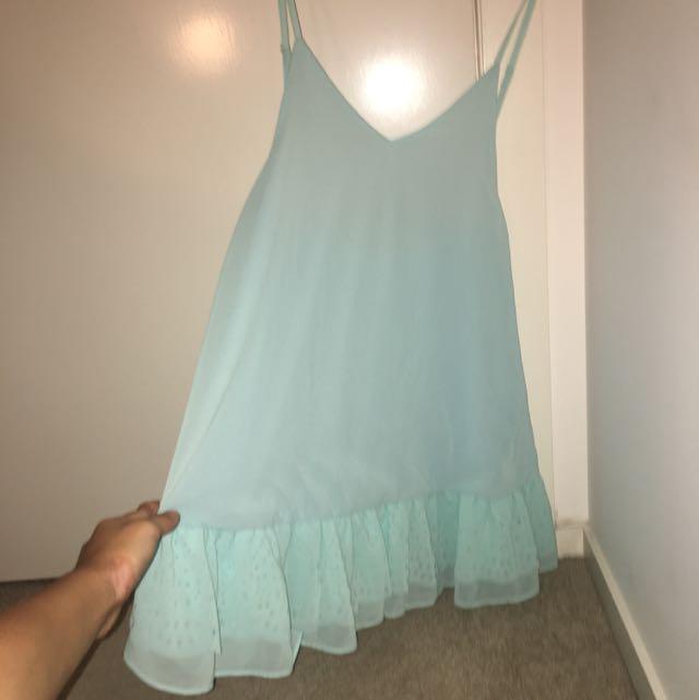 Catalog Backless Flow Dress