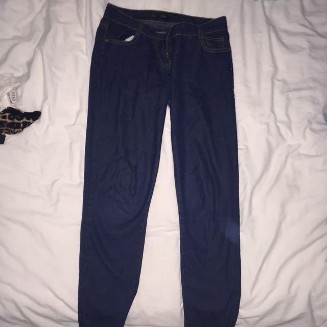 Dark Blue Stretchy Jeans