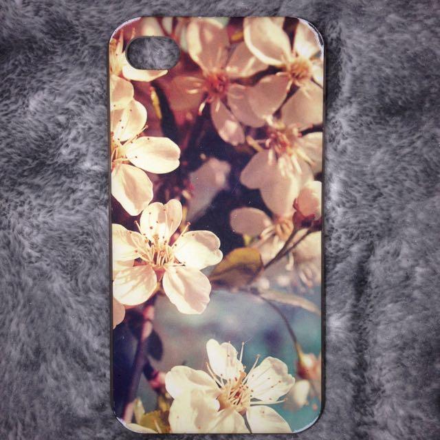 Frangipani iPhone 4/4s case