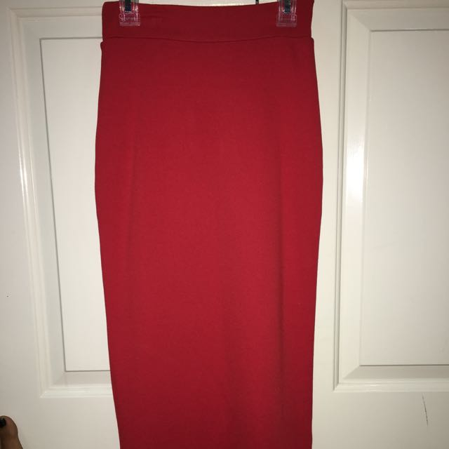 Glassons Midi Coral Skirt