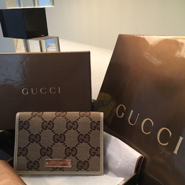 Gucci名片夾