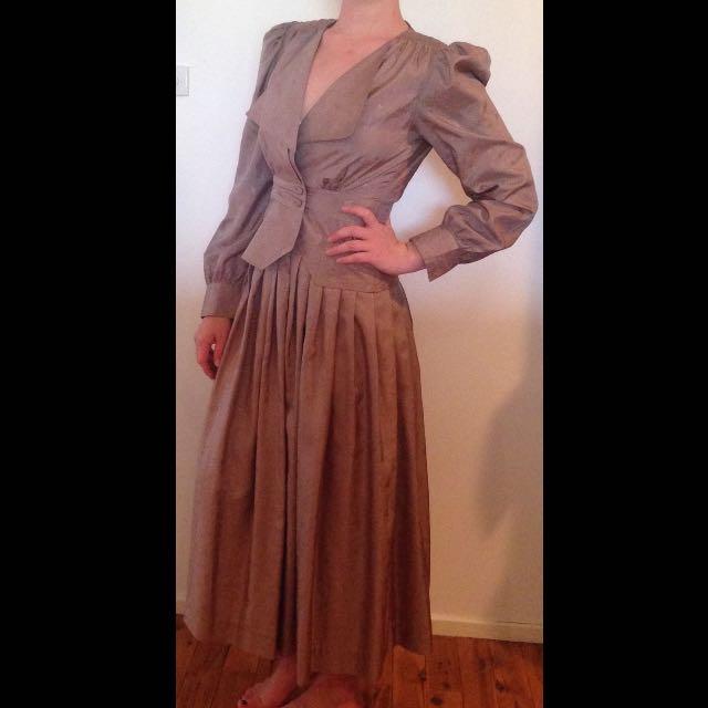 Handmade Vintage Style Skirt Suit