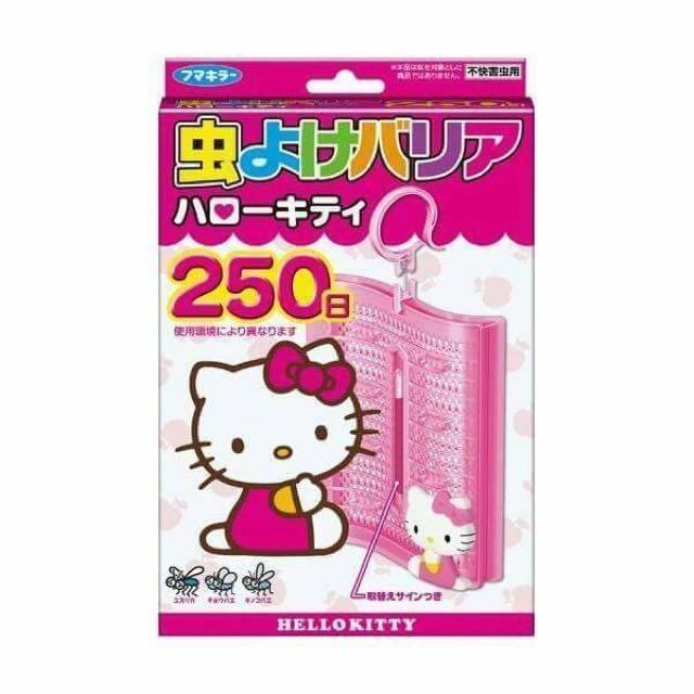 日本三麗鷗HELLOKITTY凱蒂貓防蚊掛(日本直送,日本限定款)