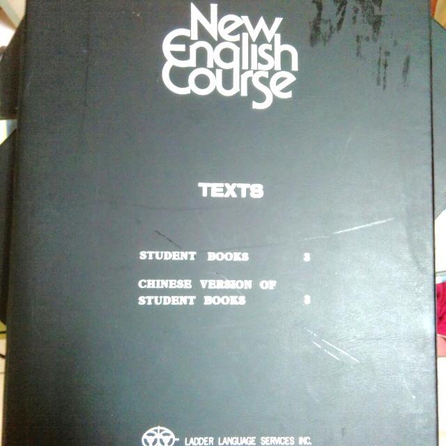 整套新英文教學 教材(含書籍,錄音帶)
