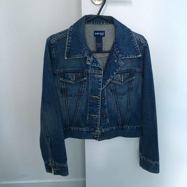 Jean sweet Cropped Denim Jacket