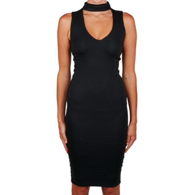 Kookai Black Malibu Dress