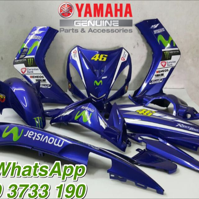 MOVISTAR 135LC V1 OEM COVER SET Auto Accessories On Carousell
