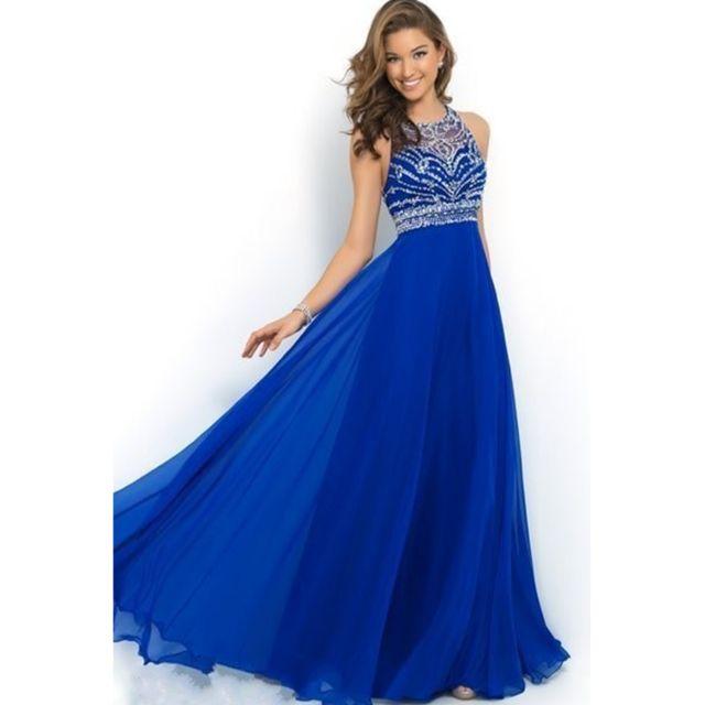 Dark Blue Diamond Dresses