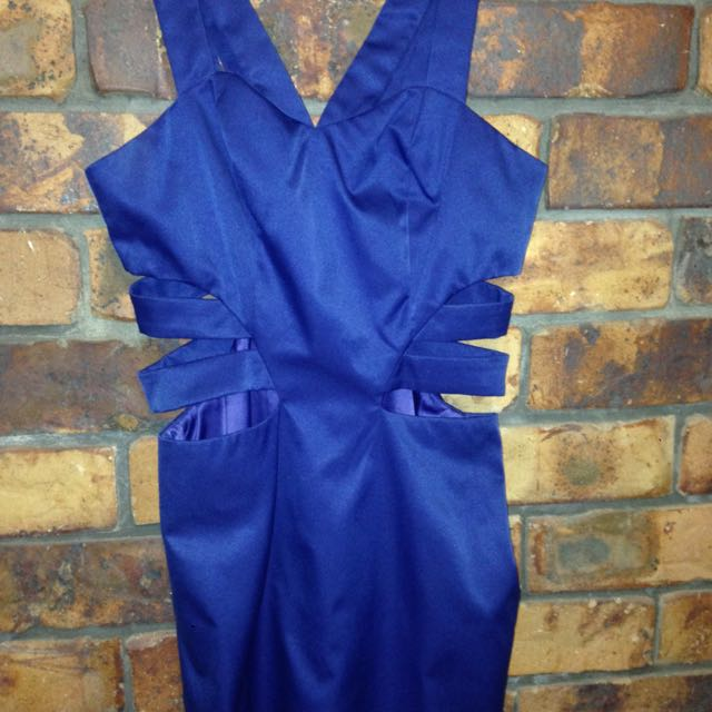 Royal Blue Dress Size 8