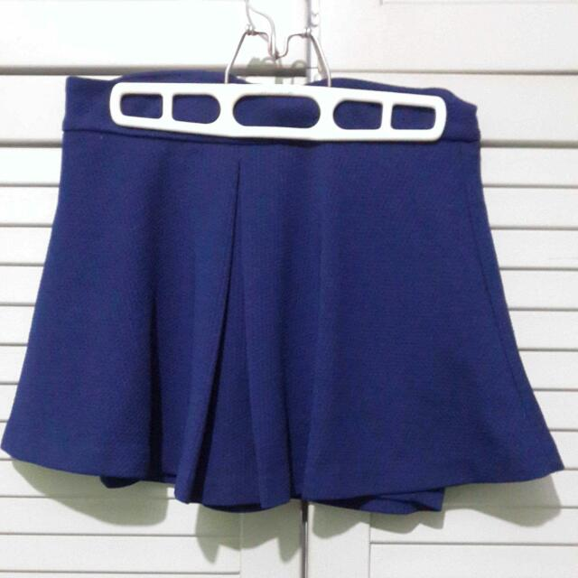 Stradivarius blue Skirt