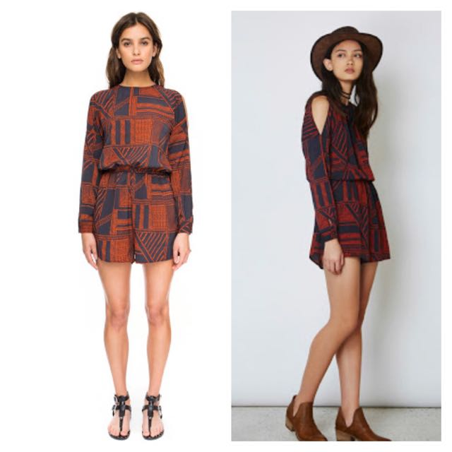 The Fifth Label - The fifth lost paradise playsuit
