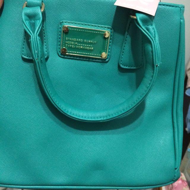 Tiffany綠包包