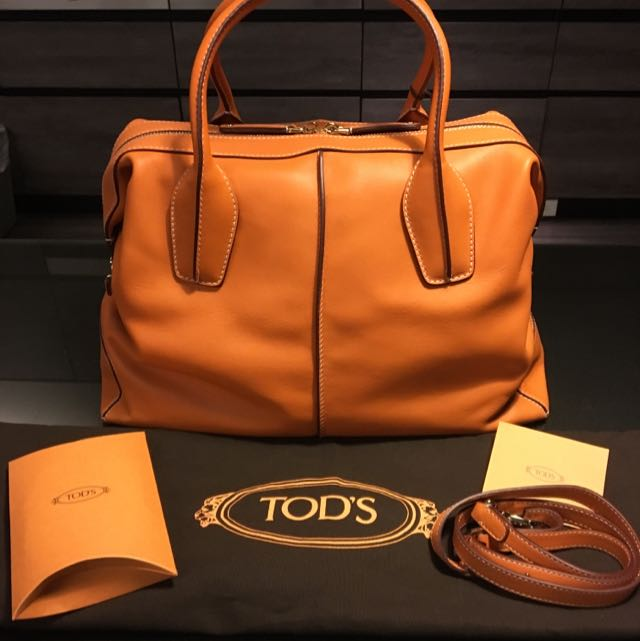 Tod's D-styling Bauletto Medio 牛皮波士頓包