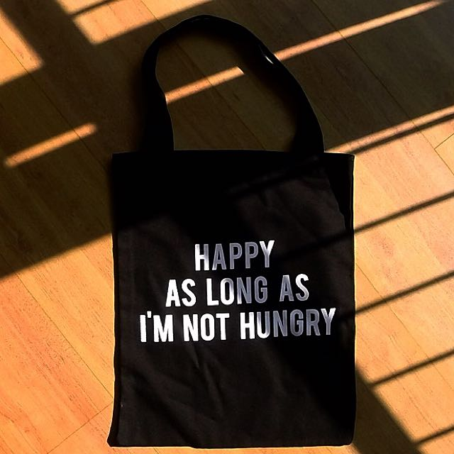 Totebag: Happy x Hungry