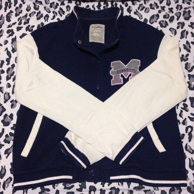 Varsity Jacket Pull & Bear