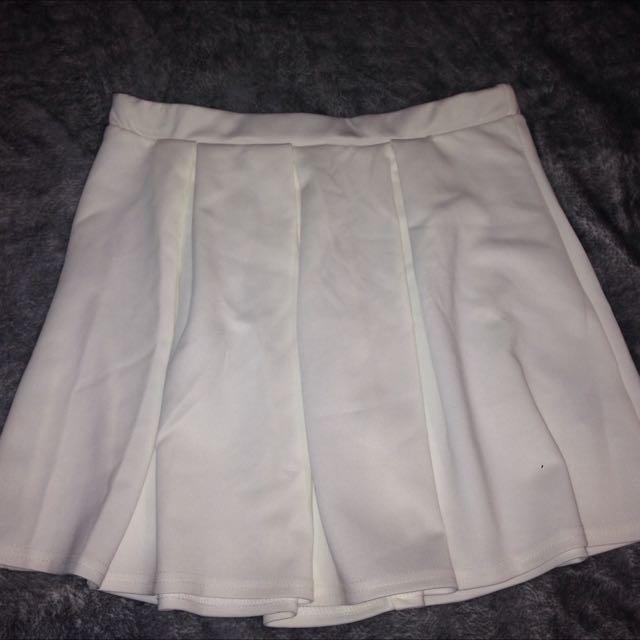 White Skirt Size 10