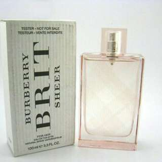 100ml Authentic Burberry Brit Sheer