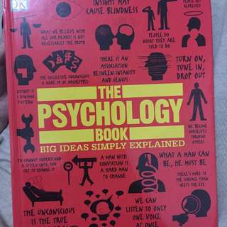 Jual Buku The Psychology Book, Big Ideas Simply Explained