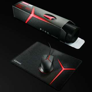 Gaming Mouse And Mat Lenovo Latest Y Series