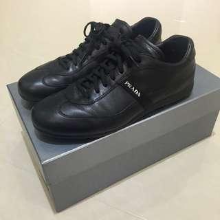 PRADA Plume Soft Nero 休閒皮鞋 男鞋