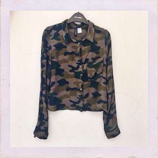 "H&M DIVIDED ""army"""
