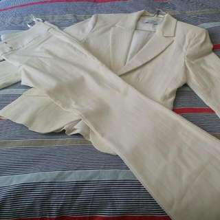 Ivory Corporate Suit.