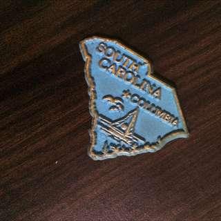 South Carolina Fridge Magnet