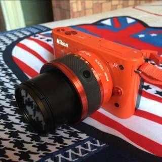 Nikon 1  J2    8.5成新