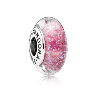 全場最便宜⚠️Pandora charm 安娜公主Anna象徵夜光琉璃珠 全新附盒附發票 |迪士尼系列 冰雪奇緣 潘朵拉