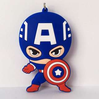(Available For Pre-Order) Captain America Key Chain Marvel Superheroes