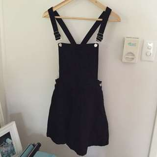 BNWOT Black A Line Pinafore