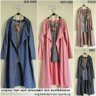 Cheko Top Only Mocca