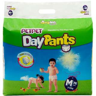 PAMPERS PETPET DAY PANTS