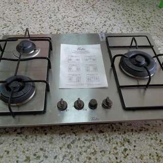 Gas cooker Used less than 6 mth. Nego